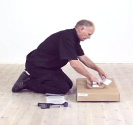 Video instrukcje lub wizualizacje pokoi 3D