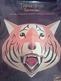 Maska Tygrys, ozdoba do zawieszenia na ścianie, wym.: 29x31, średnica 18cm