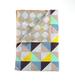 Poszwa, kratka, kolorowa 140 cm x 200 cm, bawełna