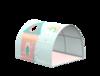 Jaskinia z kocykiem Jednorożec, może być stosowana do łożek i na podłodze