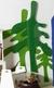 Drzewka zielone, dekoracja 3D, MDF