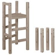 Platforma i nogi do łóżka średniowysokiego, terra,