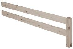 Poręcz zabezpieczająca 3/4 krótsza do drabinki, terra, 38x147cm