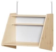 Sekretarzyk /biurko Click-on z półką do wysokiego łóżka Classic, naturalny; 63x7