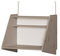 Sekretarzyk /biurko Click-on z półką do wysokiego łóżka Classic, terra; 63x72x51