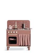 Kuchnia Flexa, wykonana z brzozy, sklejki i MDF. Zasłonka 100% bawełna