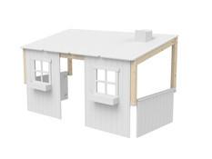 Domek - nadstawka domek na łóżko Classic, wymiar 129x210x112cm, bezbarwny