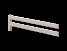 Poręcz zabezpieczająca 3/4 do drabinki lub platformy, szary, 38x157cm