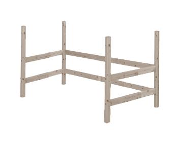 Nogi do wysokiego krótszego łóżka, terra,118x200x100