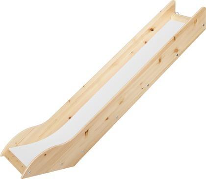 Zjeżdżalnia do łóżka średniowysokiego lub platformy, bezbarwny