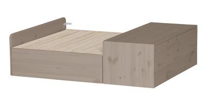 Sofa stelaż ze schowkiem na pościel pod łóżko wysokie,terra