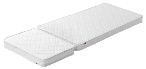 Materac FLEXA WHITE JUNIOR 2 elementy, Pianka PU 20kg,