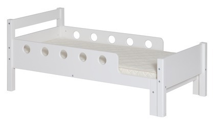 Łóżko MDF, Junior, możliwe wydłużenie z 140 do 190 cm