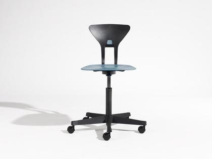 Krzesło Ray Labofa niebieski