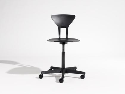 Krzesło Ray Labofa, Czarne