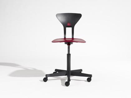 Krzesło Ray, Labofa, czerwony