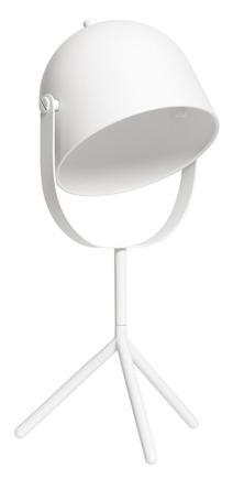 Lampka na biurko Monty, biała, wys 42, śr 17 cm