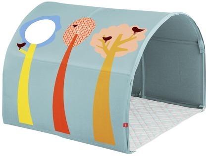 Jaskinia LAS do postawienia na łóżku lub podłodze. Pokrowiec bawełniany, nadaje