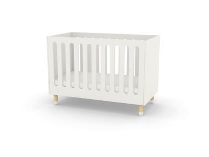 FLEXA DOTS łóżeczko Baby, biały,