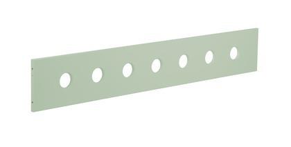 Poręcz zabezp. 3/4 krótsza do łóżka White, miętowa. Do łóżka 80-17101