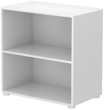 Moduł CABBY z 1 półką, wym 74,5x72x43,5 MDF, biały.