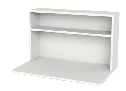 Biurko Shelfie, 45x72x46,8cm, biały, MDF