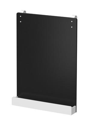 Tablica do łóżek MDF lub do zawieszenia na ścianę, biała, 55x40x9,5 cm.
