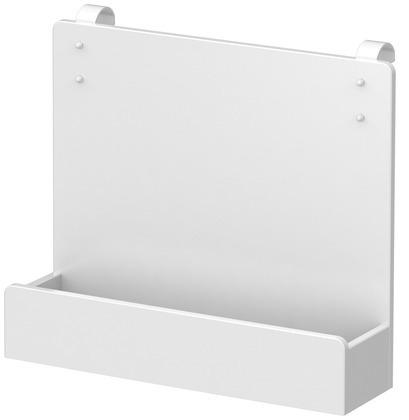 Półka do łóżek  MDF lub na ścianę, biały, 30x35x9,5 cm.