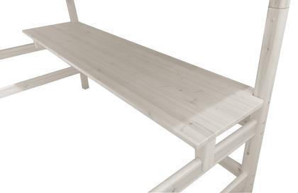Biurko do wysokiego łóżka Classic , bielony, wym 2x210x52cm