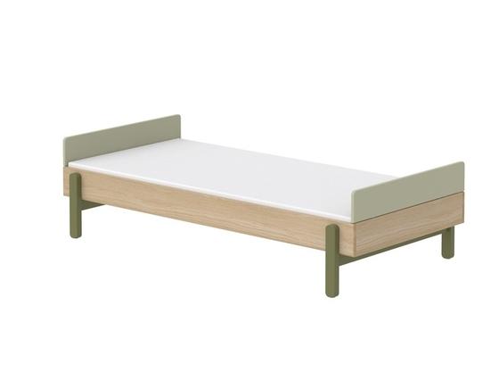 Łóżko niskie 90cm z niskimi zagłówkami KIWI, Popsicle