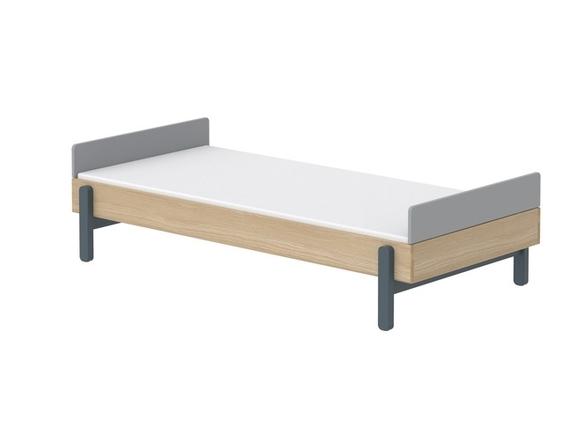 Łóżko niskie 90cm z niskimi zagłówkami JAGODA, Popsicle