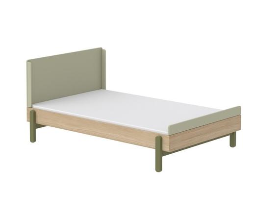 Łóżko niskie 120cm KIWI z niskim/wysokim zagłówkiem
