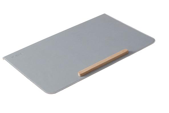 Mata ochronna na biurko (szara, 2x66x42,8cm)