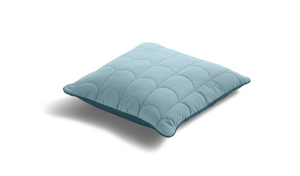 Poduszka mniejsza, 40x40cm, niebieska