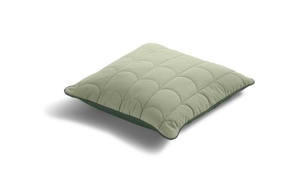 Poduszka mniejsza, 40x40, zielona