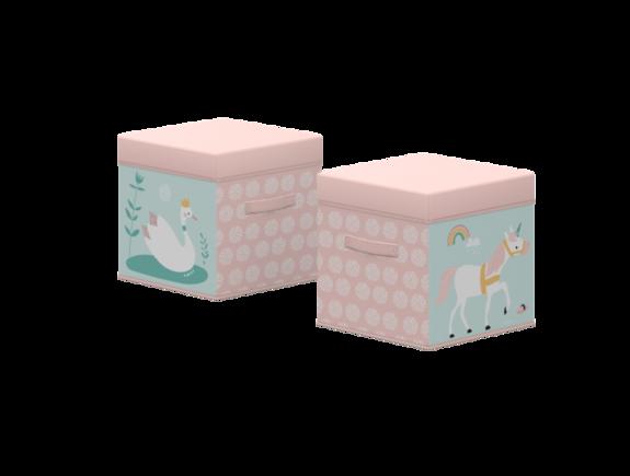 Pudełko, Jednorożec, 1 szt, stabilne, pasuje do regałów